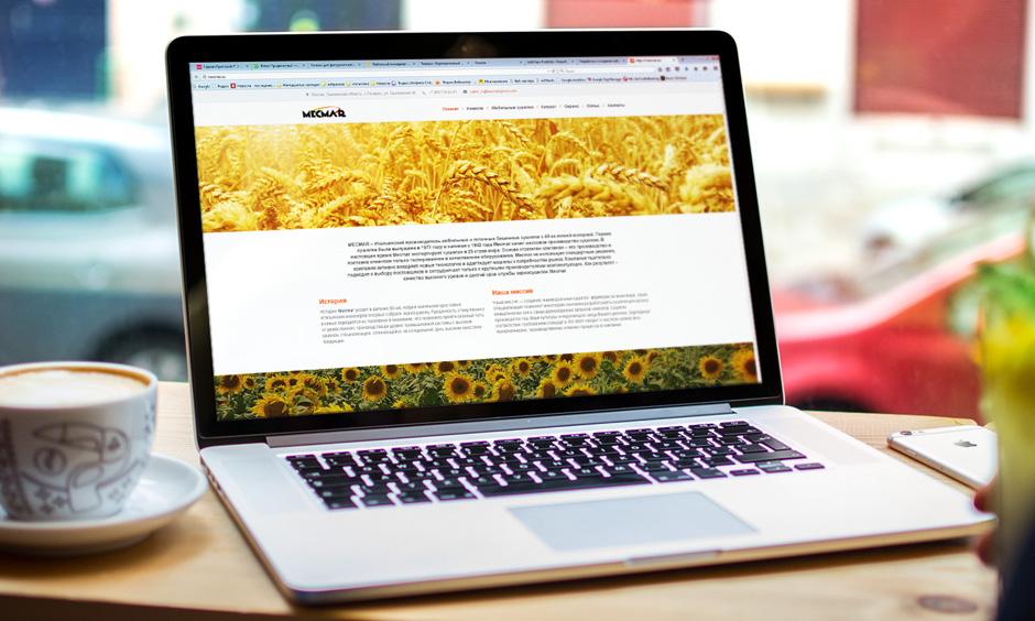 Сайт компании Mecmar